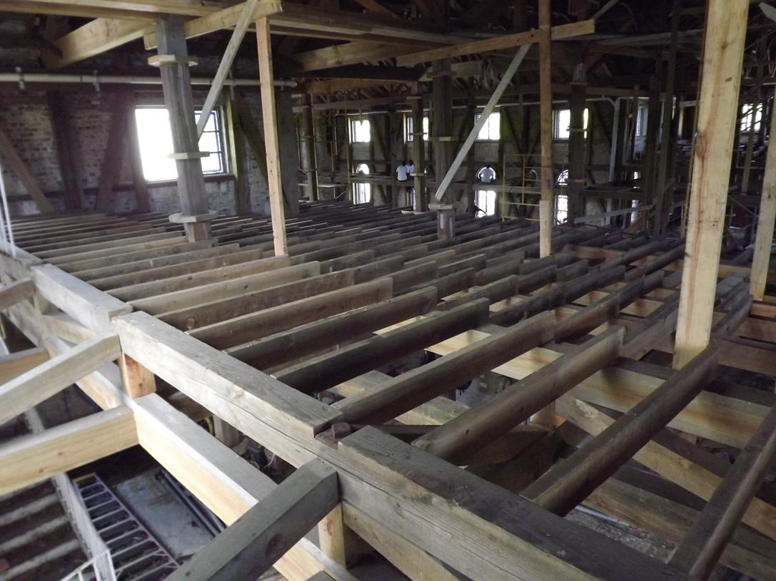 Uncategorized the st john 39 s cathedral antigua barbuda for Balcony joists